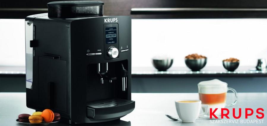 Krups Espresseria Super Cappuccino EA844230 kávéfőző kávégép