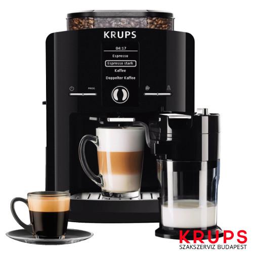 Krups új és felújított kávégépek